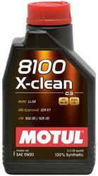 Моторное масло MOTUL 8100 X-clean 5W30 102785