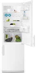 Холодильник с морозильником Electrolux EN3488AOW белый