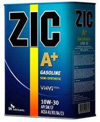 Моторное масло ZIC А+ 10W30 163392