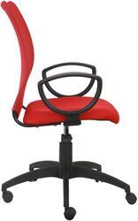 Кресло офисное Бюрократ CH-599 красный