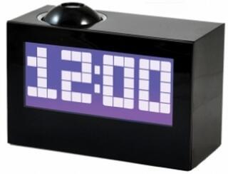 Часы проекционные с будильником Novis NCR-100 черные