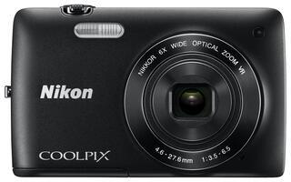 Компактная камера Nikon S4400 Black