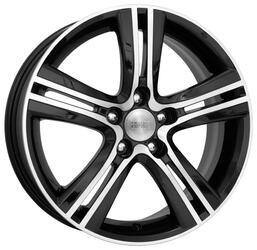 Автомобильный диск Литой K&K Борелли 6,5x16 5/114,3 ET 40 DIA 67,1 Алмаз черный