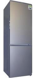 Холодильник с морозильником Daewoo Electronics FR33VN серебристый