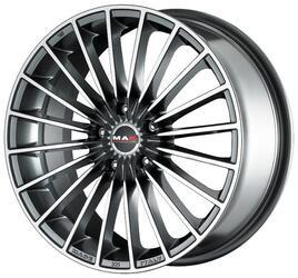 Автомобильный диск литой MAK Volare 9,5x19 5/108 ET 45 DIA 72 Gun Metallic - Mirror Face