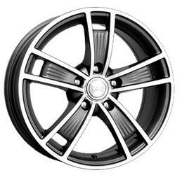 Автомобильный диск  K&K Диксон 7x16 5/114,3 ET 45 DIA 60,1 Алмаз графит