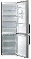 Холодильник с морозильником Samsung RL56GHGIH серебристый
