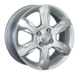 Автомобильный диск литой Replay KI111 6x15 4/100 ET 48 DIA 54,1 Sil