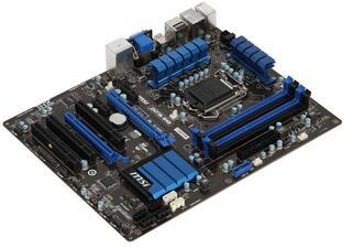 Плата MSI LGA1155 ZH77A-G43 H77 4xDDR3 3xPCI-Ex16(16+4) HDMI/DVI/DSub 8ch 2xSATA3 4xSATA RAID 2xUSB3 GLAN ATX