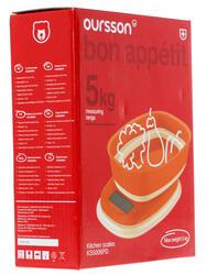 Кухонные весы Oursson KS5006PD/OR оранжевый