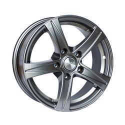 Автомобильный диск литой Скад Сакура 6,5x15 5/114,3 ET 26 DIA 66,6 Грей