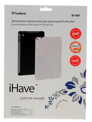 Пленка защитная для планшета iPad 3, iPad 4