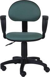 Кресло офисное Бюрократ Ch-213AXN зеленый