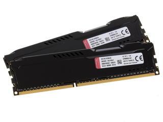 Оперативная память Kingston HyperX FURY Black Series [HX318C10FBK2/8] 8 ГБ