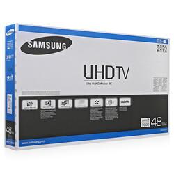 "48"" (121 см)  LED-телевизор Samsung UE48JU7000 серебристый"