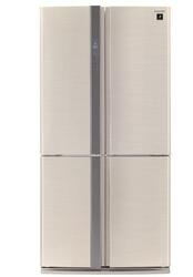Холодильник с морозильником Sharp SJFP97VBE бежевый