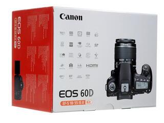 Зеркальная камера Canon EOS 60D Kit 18-55mm черный