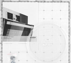 Микроволновая печь Bosch HMT 72M450R серебристый