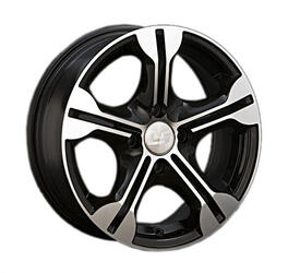 Автомобильный диск Литой LS 103 6x14 4/100 ET 40 DIA 73,1 BKF