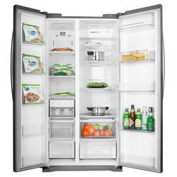 Холодильник LG GC-B207GAQV серебристый