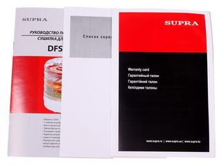 Сушилка для овощей и фруктов Supra DFS-211 белый