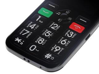 Сотовый телефон DEXP Larus S2 черный