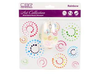 Мышь проводная CBR Rainbow