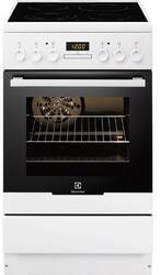 Электрическая плита Electrolux EKC954500W белый, черный