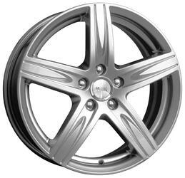 Автомобильный диск  K&K Андорра 7x17 5/114,3 ET 45 DIA 67,1 Блэк платинум