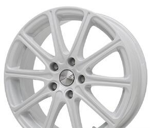Автомобильный диск литой Скад Одиссей 7x17 5/112 ET 40 DIA 57,1 белый