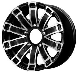 Автомобильный диск литой iFree Тополь 7x16 5/139,7 ET 35 DIA 95,3 Блэк Джек