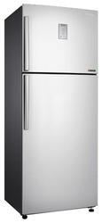 Холодильник с морозильником Samsung RT46H5340SL серебристый
