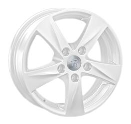 Автомобильный диск литой Replay TY115 7x17 5/114,3 ET 39 DIA 60,1 White