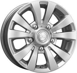 Автомобильный диск литой K&K Фалкон-Нова 6x15 5/139,7 ET 35 DIA 107,6 Блэк платинум