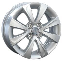 Автомобильный диск литой Replay H71 6x15 4/100 ET 53 DIA 56,1 Sil