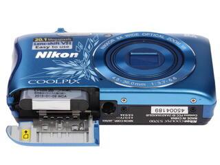 Компактная камера Nikon Coolpix S3700 голубой