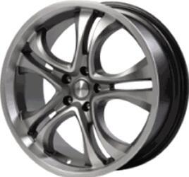 Автомобильный диск литой Скад Версаль 7,5x18 5/105 ET 43 DIA 67,1 Грей