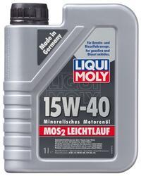 Моторное масло LIQUI MOLY MoS2 Leichtlauf 15W40 1932, дисульфид молибдена