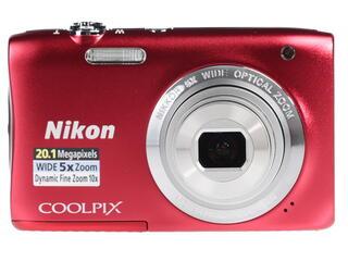 Компактная камера Nikon Coolpix S2900 красный