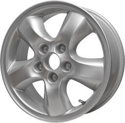 Автомобильный диск Литой Скад Santa-Fe 6,5x16 5/114,3 ET 46 DIA 67 Платина