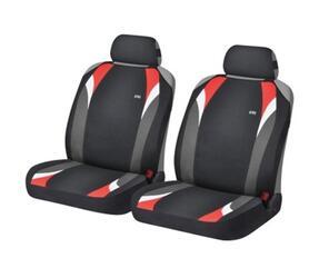 Накидка на сиденье H&R FORMULA FRONT черный/красный