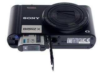 Компактная камера Sony Cyber-shot WX350B черный