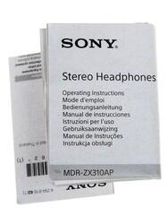 Наушники Sony MDR-ZX310APB