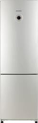 Холодильник с морозильником Daewoo Electronics FRL417S серебристый