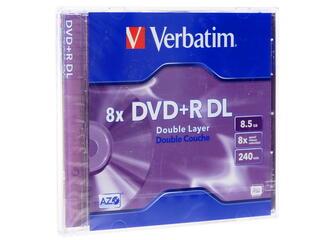 Диск Verbatim  DVD+R 8.5Gb