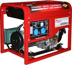Дизельный электрогенератор DDE DDG6000E