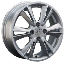 Автомобильный диск литой Replay RN76 6x15 4/100 ET 50 DIA 60,1 Sil