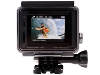 Экшн видеокамера GoPro Hero+LCD серый
