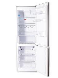 Холодильник с морозильником Candy CKBN 6180 DS серебристый