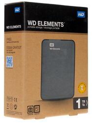 "2.5"" Внешний HDD WD Elements Portable [WDBUZG0010BBK]"